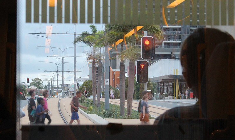 Gold Coast Light Rail: not perfect priority