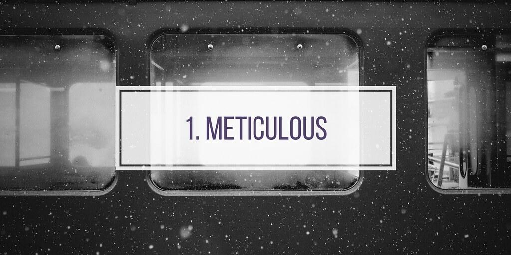 1. METICULOUS