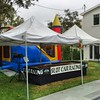 Ready to start another backyard Slot Car Racing birthday party with Racing Party Event.#backyardparty #backyard #birthdayparty #birthdayfun #racingparty #racingpartyevents #mobileslotcarracing #mobileslotcarparty #slotcarparty by racingpartyevents