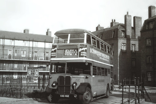 London Transport BXD482