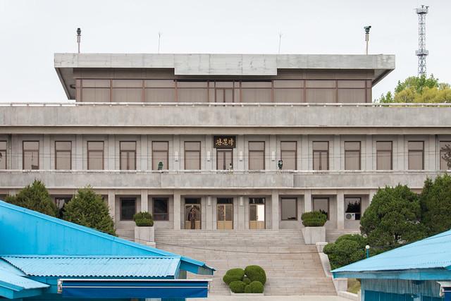 North Korea side.