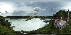 Rhine Falls from the Belvedere in 360 °