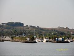 Yachts at berth.