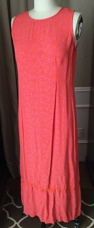 Orange You Glad Dress - Before
