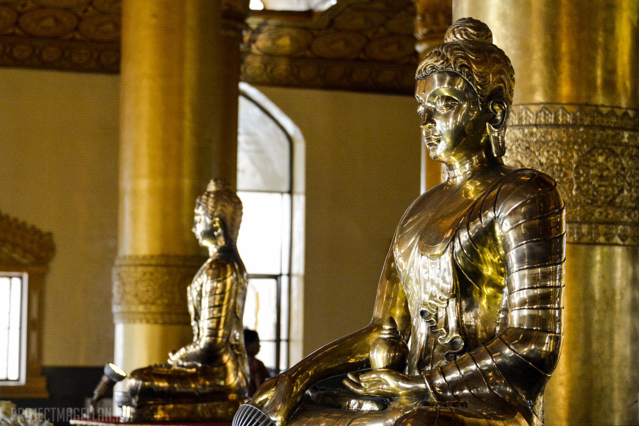 Swe Taw Myat, Yangon, Rangoon, Burma, Myanmar, Tooth Relic Pagoda