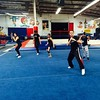 KIX class. We only worked on kicks! :sweat_smile::grimacing::pray::sweat_drops::sweat_drops::sweat_drops::sweat_drops::sweat_drops: #fitness #fit #fitfam #martialarts #tw