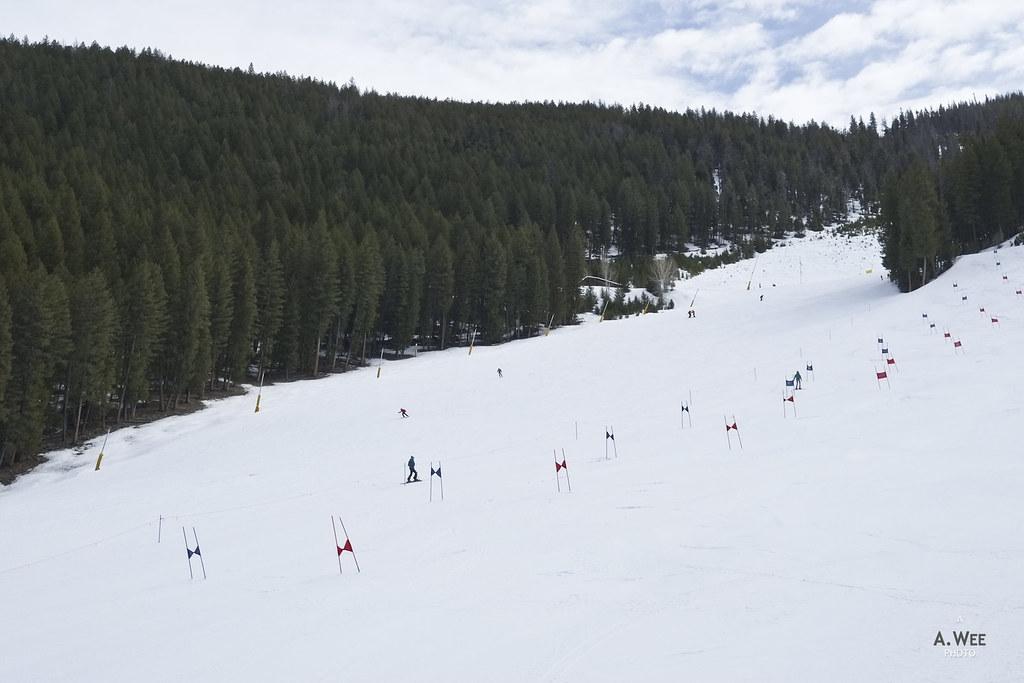 The terrain at Warm Springs