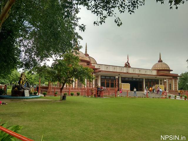 A different View of Maa Durga Mandir