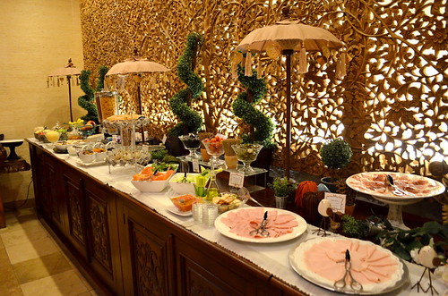 Breakfast buffet at Royal Garden Villas, Costa Adeje