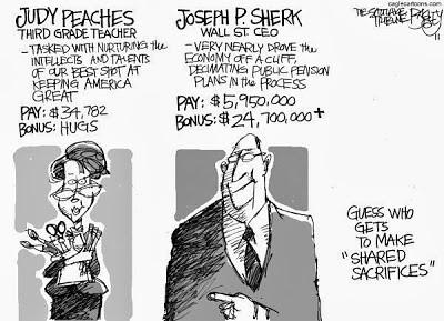 teacher's sacrifice