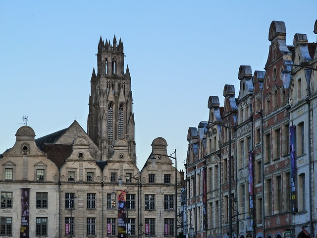Plaza de los héroes de Arras (Norte de Francia)