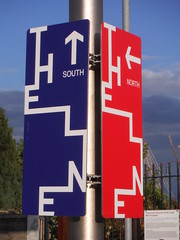 The Line Waymarkers