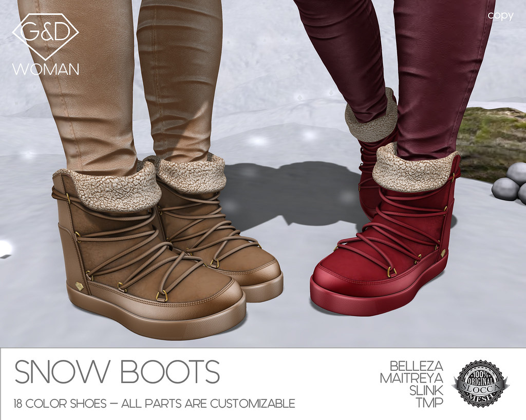G&D Snow Boots 05 adv - SecondLifeHub.com