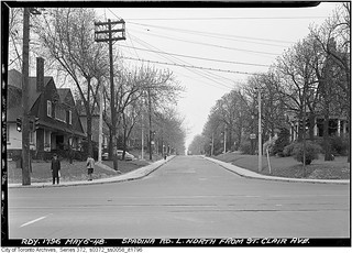 Spadina Road north from St. Clair Avenue