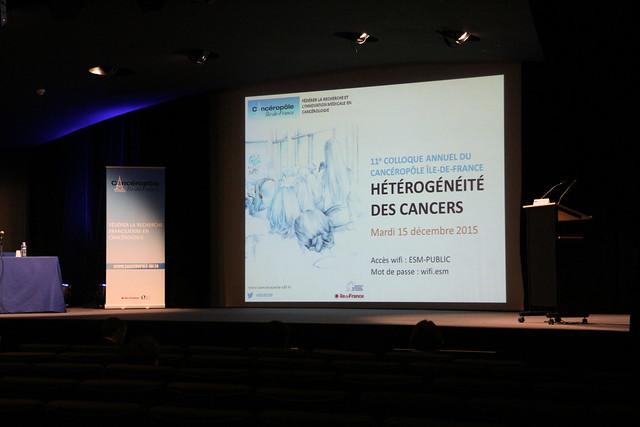 15/12/2015 - 11e Colloque annuel : hétérogénéité tumorale