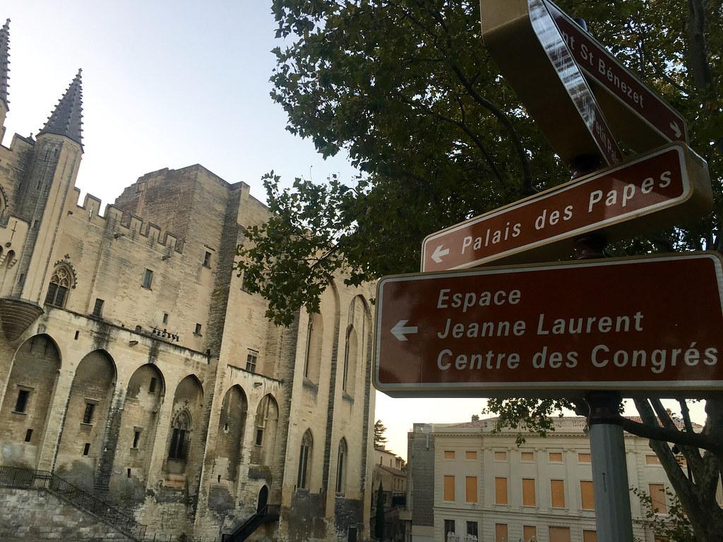 Palais des Papes i Avignon