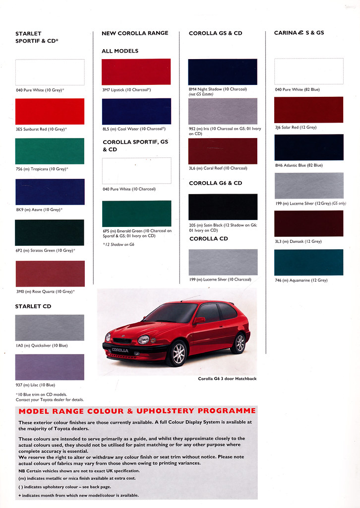 Celicacitys most recent flickr photos picssr uk toyota car upholstery colours page 2 august 1997 sciox Choice Image