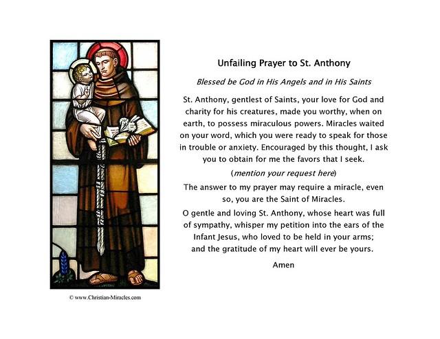 Saint Anthony Print