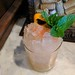 Classic Big Bar tiki cocktail. Suburban Rum Punch: Bacardi 8, Smith & Cross, cachaca, ginger, orgeat, Angostura.