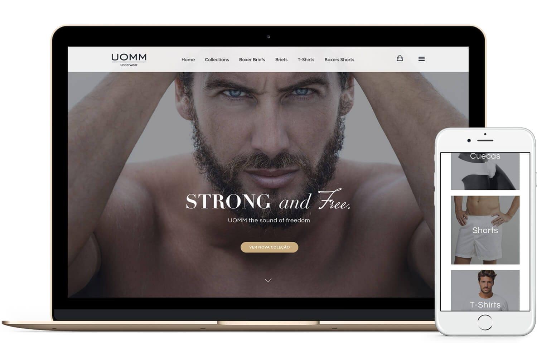 web design loja online