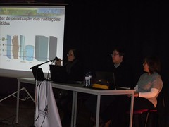 Sessão de sensibilização sobre o radão