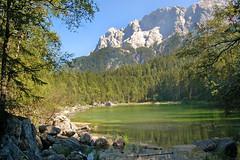 Der Eibsee unterhalb der Zugspitze (01)