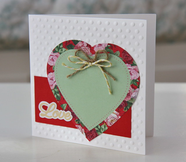 Simply Floral love card by Stickerkitten