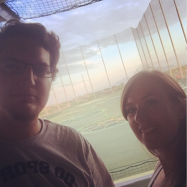 Finally a date night at top golf! by bartlewife