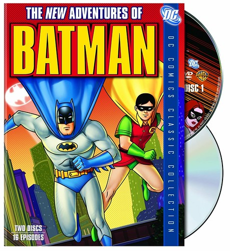 Batman, The New Adventures of (1977) cover