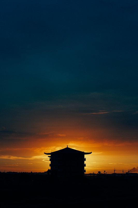 黃昏時分 Sunset  dusk |Voigtlander 42.5mm