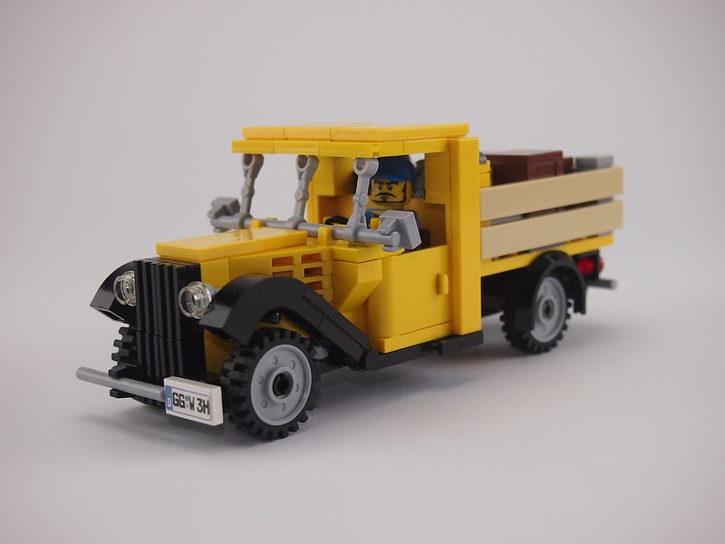 Yellow Vintage Truck