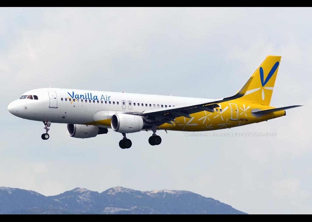 Airbus | A320-214/SL | Vanilla Air | JA07VA | Hong Kong | HKG | VHHH