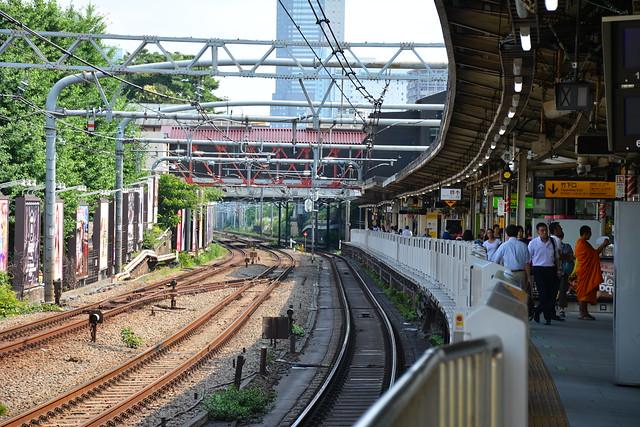 原宿駅:山手線ホーム