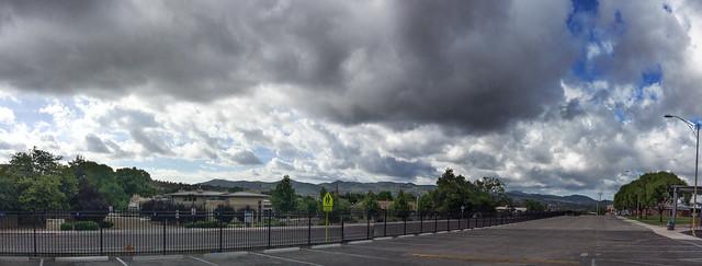 Monsoon Sky Panorama