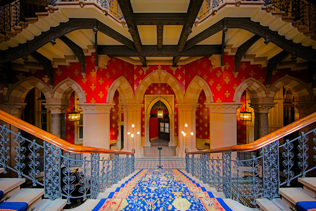 St Pancras Hotel, London.