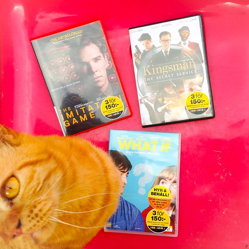 movies, july 2015 - 5 love + 1 hate