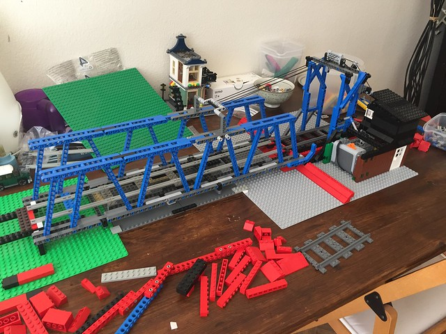 Train Bridge - for that canal or something... - LEGO Train Tech ...