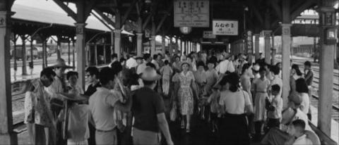 44−峰山駅(郡山駅のホーム)