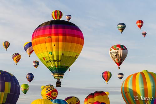 Montgolfières au Lorraine Mondial Air Ballon 2015 - envol du samedi 01/08/15 - #LMAB15 #LMAB2015 #magic