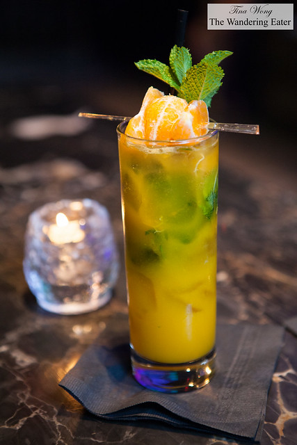 Last Tango in Havana - Bacardi Limon, mint, tangerine, mango, soda