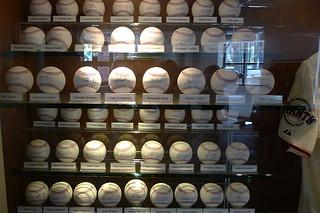 AT&T Park Tour - Signed balls