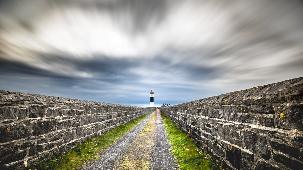 Inisheer lighthouse - Aran islands, Ireland - Travel photography