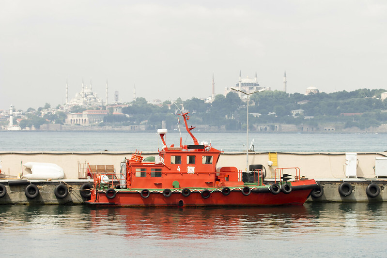 Kadikoy Port - Sultanahmet landscape - Istanbul