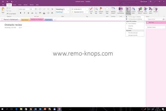 Onetastic for Microsoft OneNote 29
