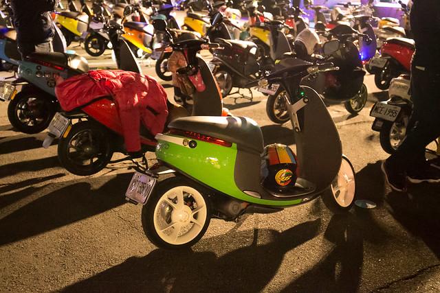 Gogoro 與車友再創騎蹟!一同甩尾 2016 邁向 2017 , 逾 400 台 Gogoro 點亮台灣,寫下另一紀錄! @3C 達人廖阿輝