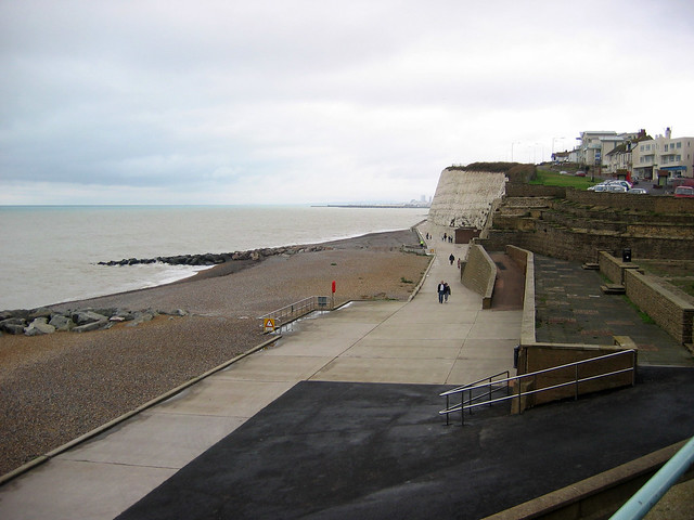 The sea front at Rottingdean