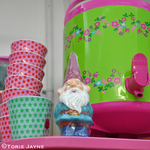 Gnome candle from Pinks & Green