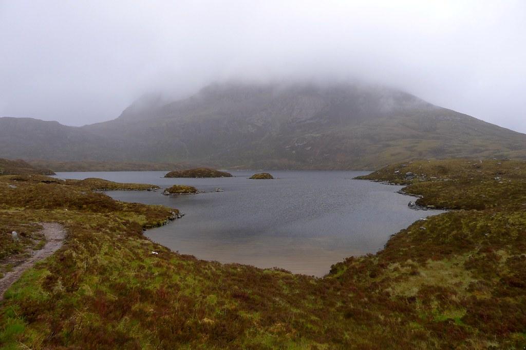 Maol Chean-dearg across Loch an Eion