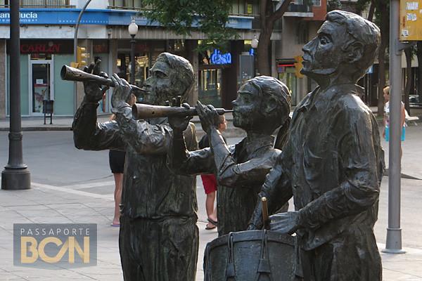 Monumento a los Castellers, Rambla Nova, Tarragona