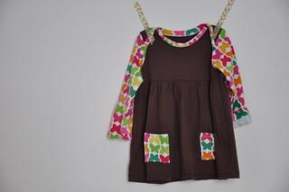 A butterfly dress